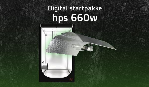Digital-startpakke-reflektor-660w